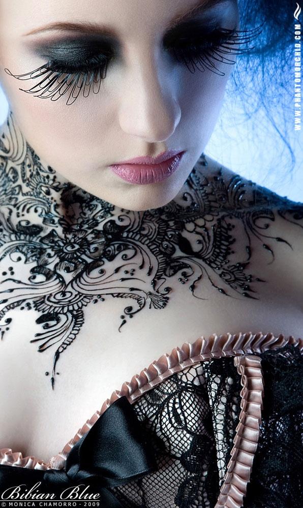 O que e tatuagem de Henna 38