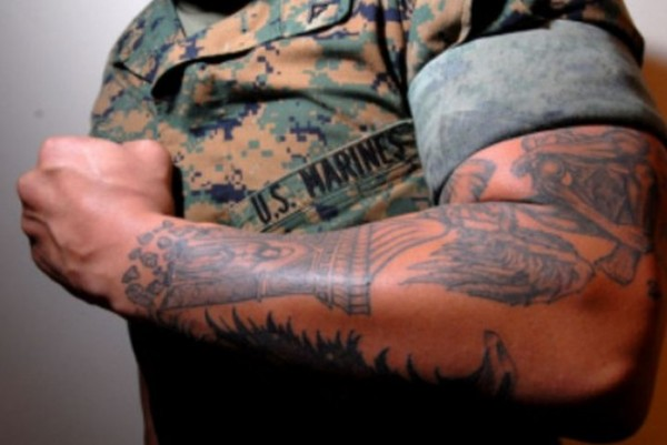 Soldado tatuado