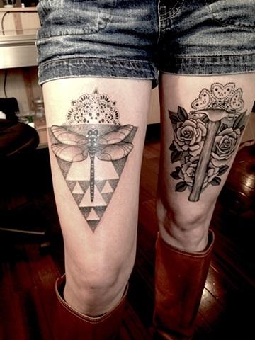 Tattoo na coxa (44)