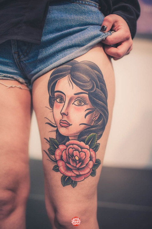 Tattoo na coxa (39)