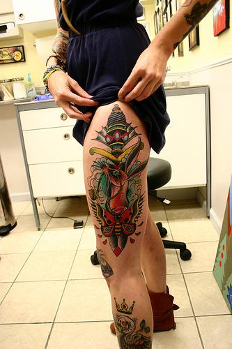 Tattoo na coxa (37)