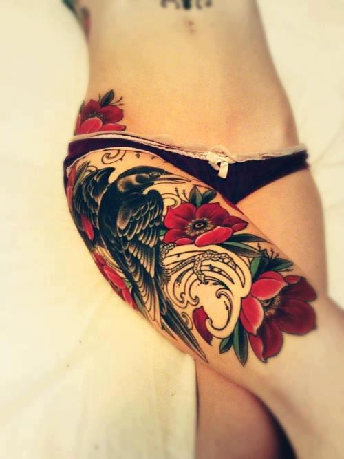Tattoo na coxa (36)