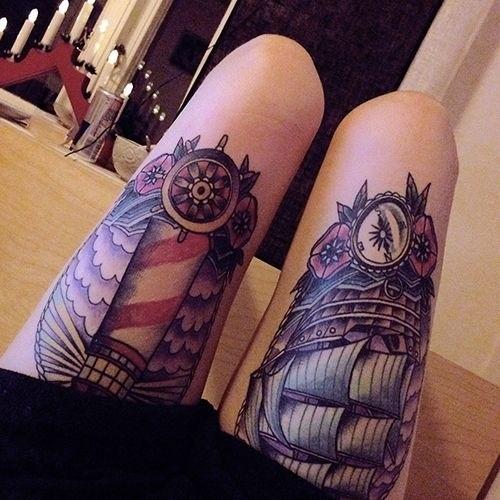 Tattoo na coxa (32)
