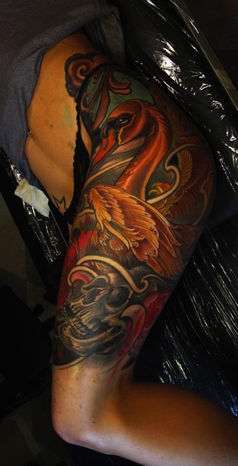 Tattoo na coxa (20)