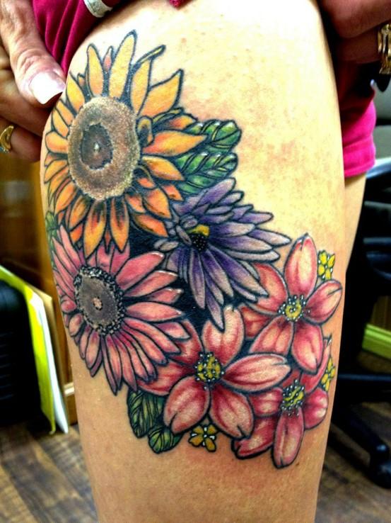 Tattoo na coxa (7)