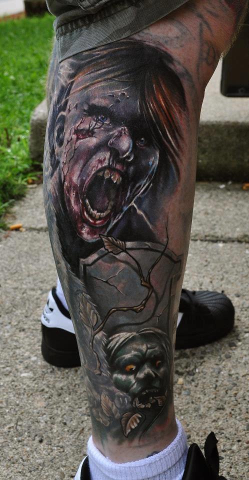 Tatuagens de Zumbis 102
