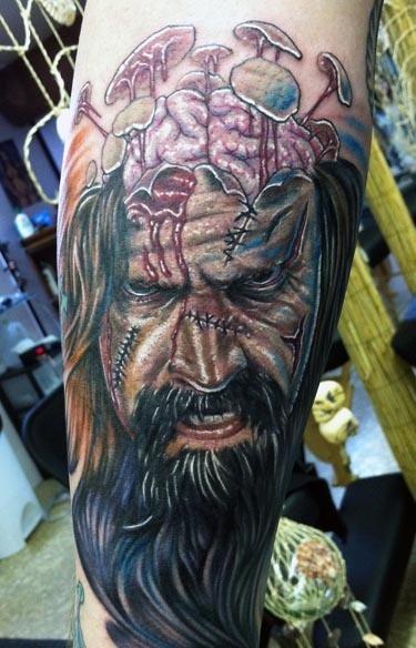Tatuagens de Zumbis 107