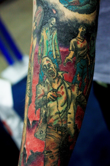 Tatuagens de Zumbis 57