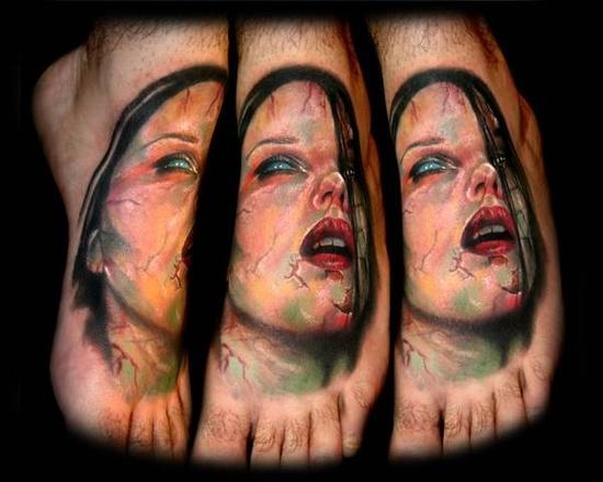 Tatuagens de Zumbis 60