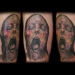 60 fotos de tatuagens de zumbis