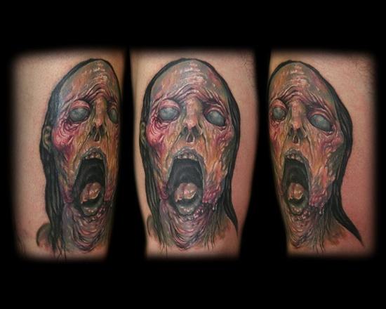 Tatuagens de Zumbis 61