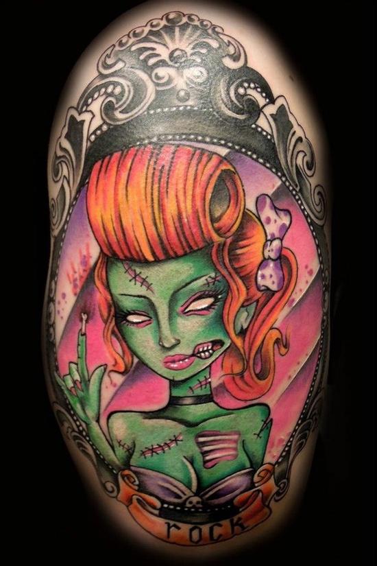 Tatuagens de Zumbis 64