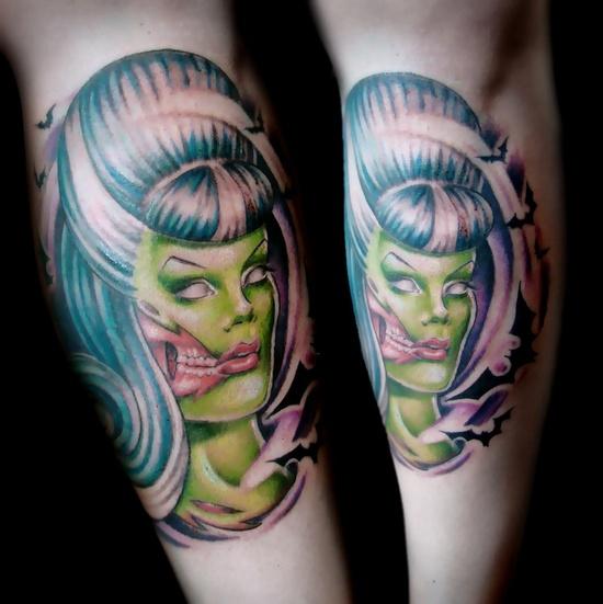 Tatuagens de Zumbis 66