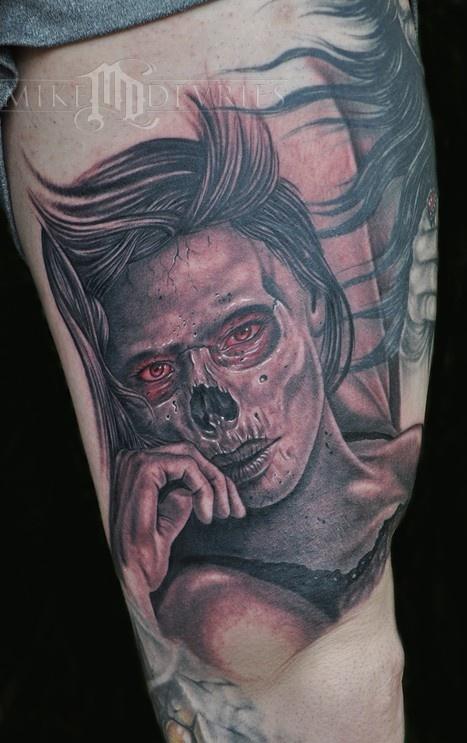 Tatuagens de Zumbis 74