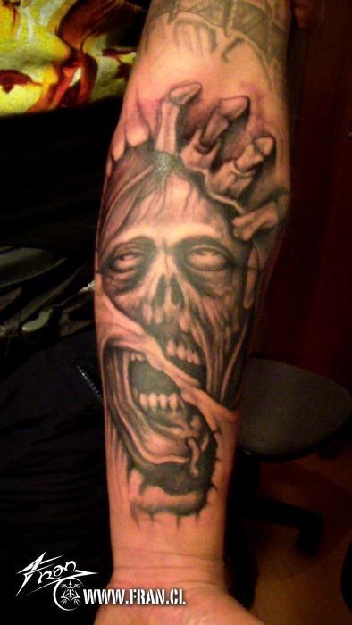 Tatuagens de Zumbis 81