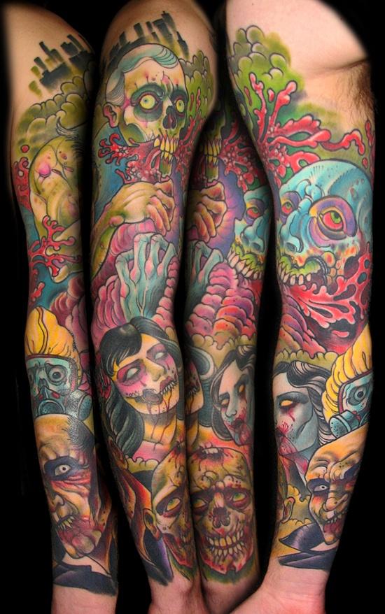 Tatuagens de Zumbis 82
