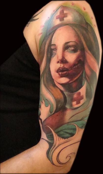 Tatuagens de Zumbis 84