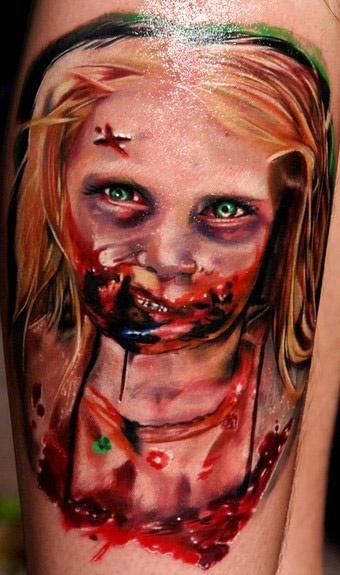 Tatuagens de Zumbis 85
