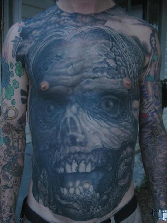 Tatuagens de Zumbis 90