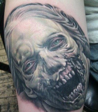 Tatuagens de Zumbis 92
