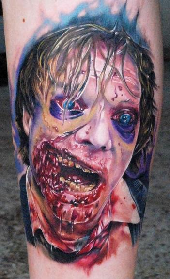 Tatuagens de Zumbis 94