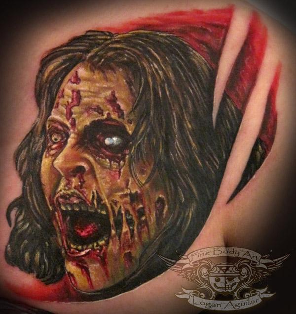 Tatuagens de Zumbis 97