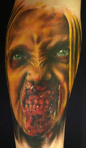 Tatuagens de Zumbis 98