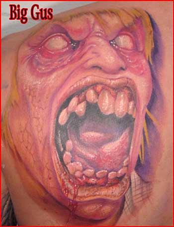 Tatuagens de Zumbis 99