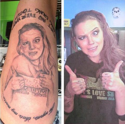 Tatuagens horriveis 14