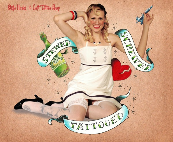 pin up maquina tattoo