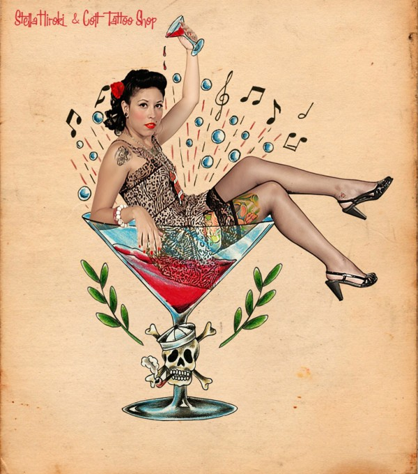 pin up martini