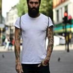 Mod Boy – Ricki Hall, um Barbudo Tatuado