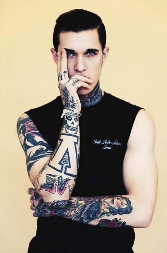 Homem tatuado Jimmy Q 08