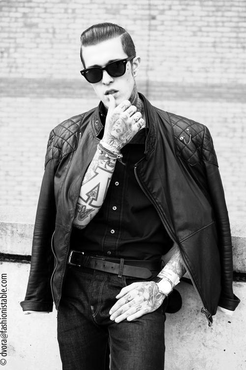 Homem tatuado Jimmy Q 24