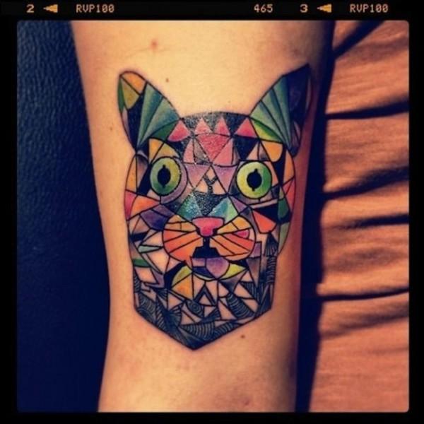 Lindas tatuagens de gatos 02