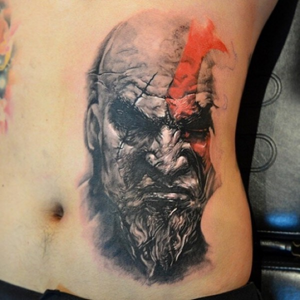 Tatuagens de Kratos do God Of War 02