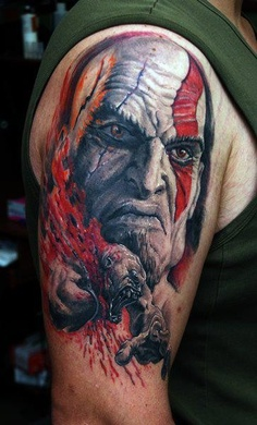 Tatuagens de Kratos do God Of War 05