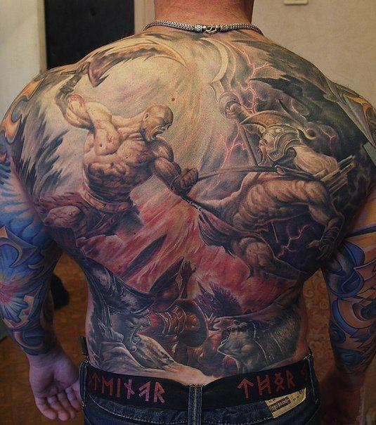 Tatuagens de Kratos do God Of War 06