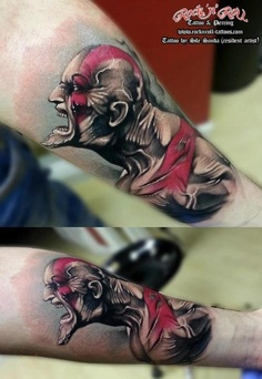 Tatuagens de Kratos do God Of War 07