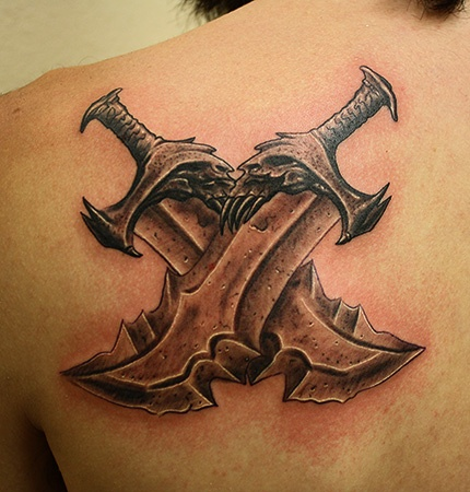 Tatuagens de Kratos do God Of War 08
