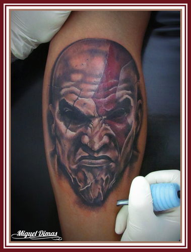 Tatuagens de Kratos do God Of War 09