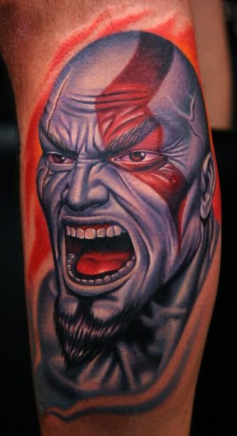Tatuagens de Kratos do God Of War 10
