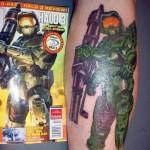 Tatuagens do Jogo Halo
