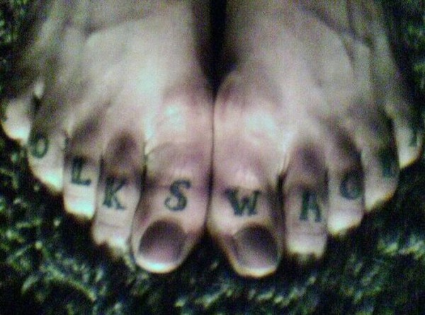 Tatuagem volkswagen