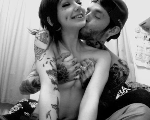 Fotos de casais tatuados para o dia dos namorados 21