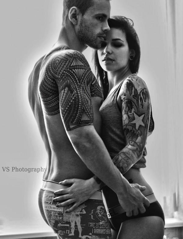 Fotos de casais tatuados para o dia dos namorados 24