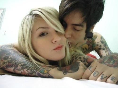 Fotos de casais tatuados para o dia dos namorados 26