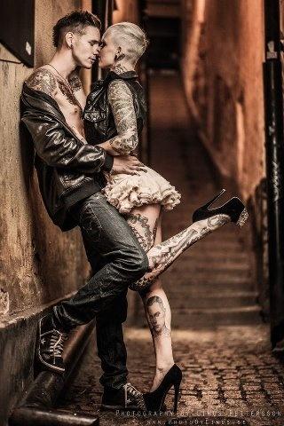 Fotos de casais tatuados para o dia dos namorados 28