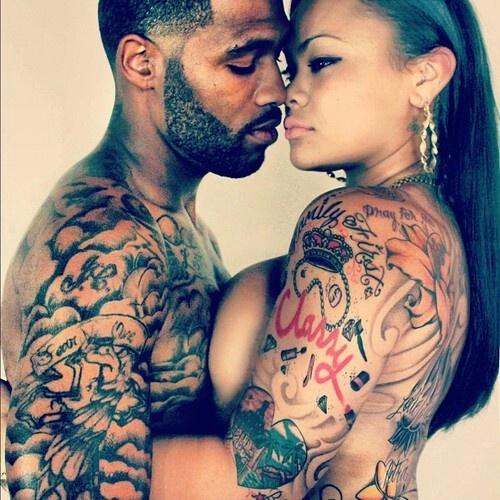 Fotos de casais tatuados para o dia dos namorados 31