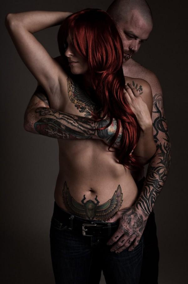 Fotos de casais tatuados para o dia dos namorados 35